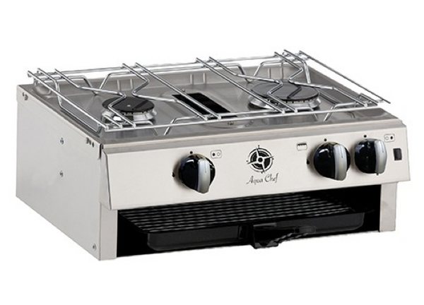 Aqua Chef T4520 2 Burner Hob & Grill - New - UK Manufactured