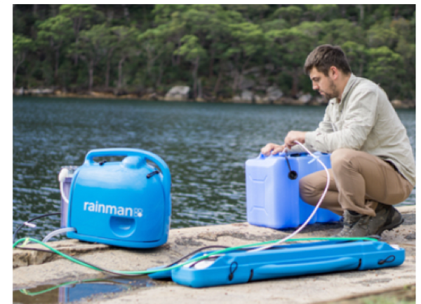 Rainman Water Maker Systems Petrol, Electric 230V or 12V - Freshwater in 2 Minutes - New 2019 Models
