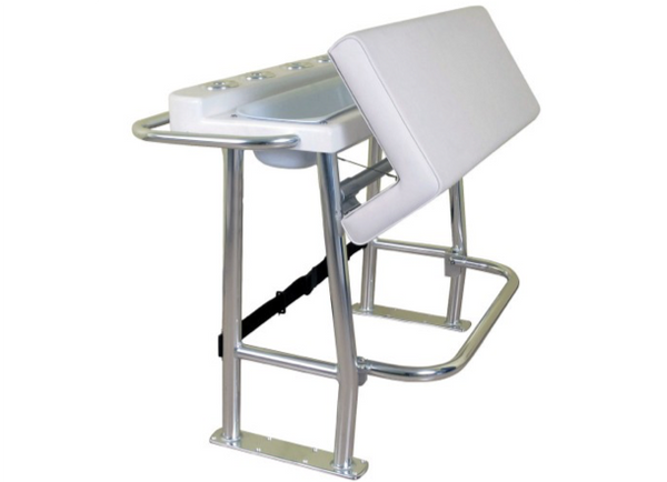 Plastimo Leaning Post with Rigid Tray - Upright Seat Rigid Tray & Backrest