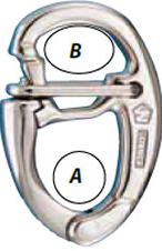 Wichard Quick Release Tack Snap Shackle
