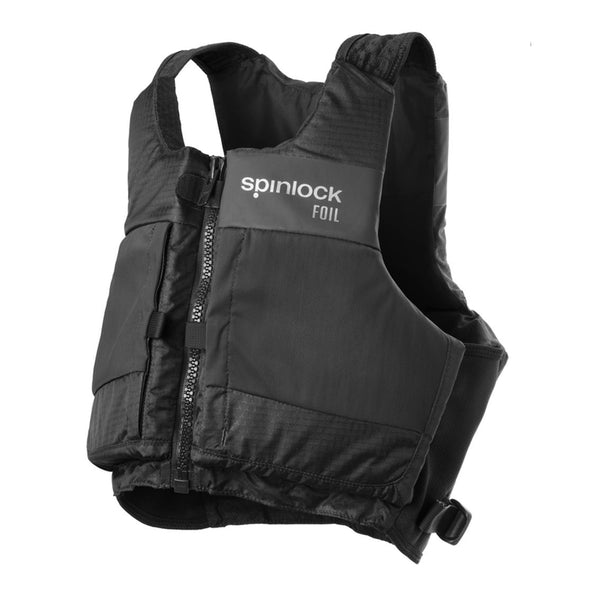 Spinlock FOIL PFD Buoyancy Aid 50N Front ZIP Black Graphite