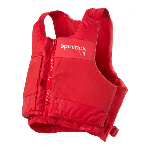 Spinlock FOIL PFD Buoyancy Aid 50N Front ZIP Mercury Red