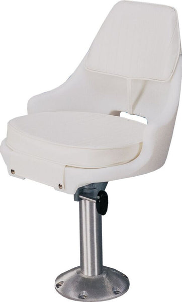 Todd Freeport Seat with Cushion Set White