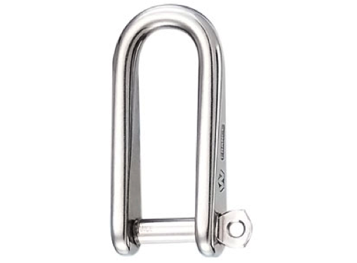 WICHARD Self-Locking Straight Extra Wide Shackle 10 mm