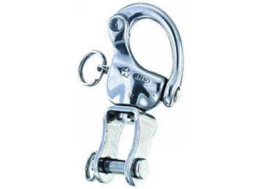 Wichard Stainless Steel Snap Shackle with Clevis Pin Swivel - All Sizes