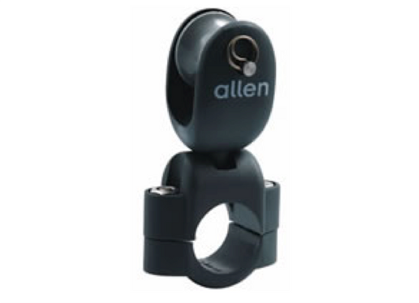 Allen Stanchion Mounted Block with Removable Pin 0450 A