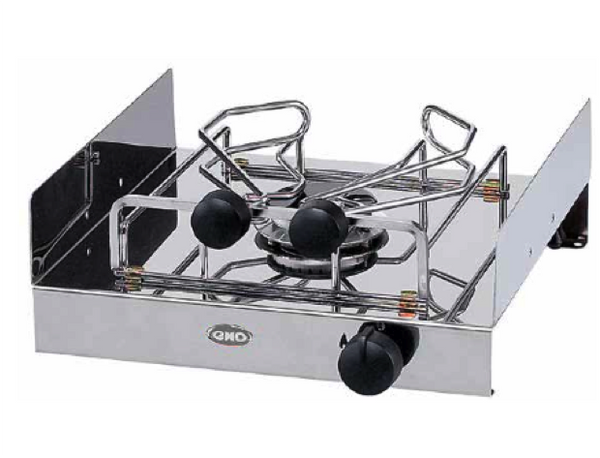 Eno Atoll 1 Burner Free Standing Hob with Pan Holders