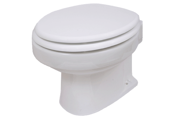 Vetus TMW Marine Toilet with Soft Close Lid 12/24v