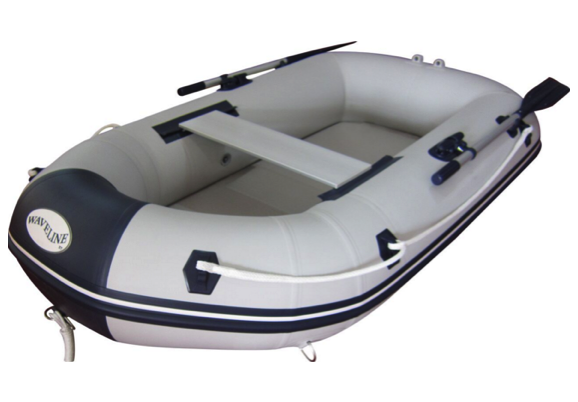 Waveline 2.30m Roundtail with Airdeck Floor & Outboard Bracket