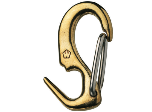 Wichard Brass One Hand Sail Snaps - All Sizes