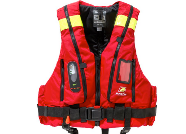 Baltic Hybrid 220 Pilot with Chest Harness - New 2018 - Manual & Automatic - Red or Black