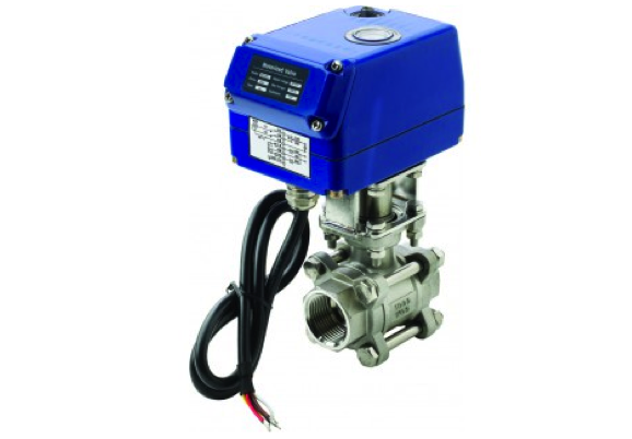 Vetus Electrically Operated Ball Valve MVA 24v G 2""