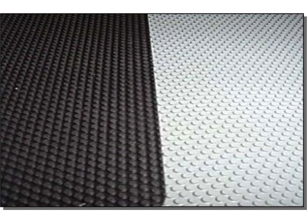 Hypalon Wear Patch Fabric Black or Lt Grey - 4 Sizes