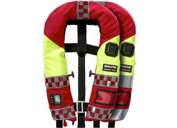 Baltic Fire Officer Emergency Services Lifejacket - Manual or Automatic