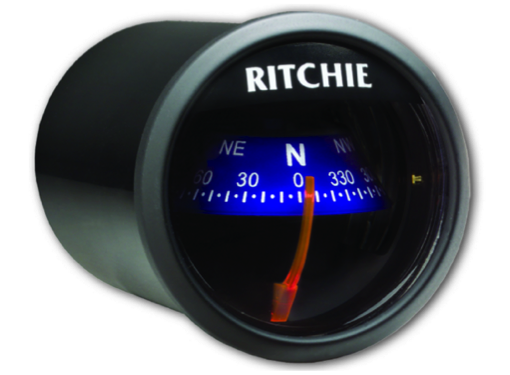 Ritchie Sport Compass Dash Mount Black/Blue/White