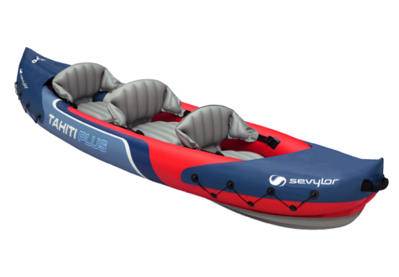 Sevylor Tahiti Plus Inflatable Kayak 2 + 1 Persons - 2019 Model