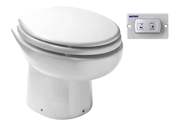 Vetus Electric Toilet WCP 12V Manual Switch