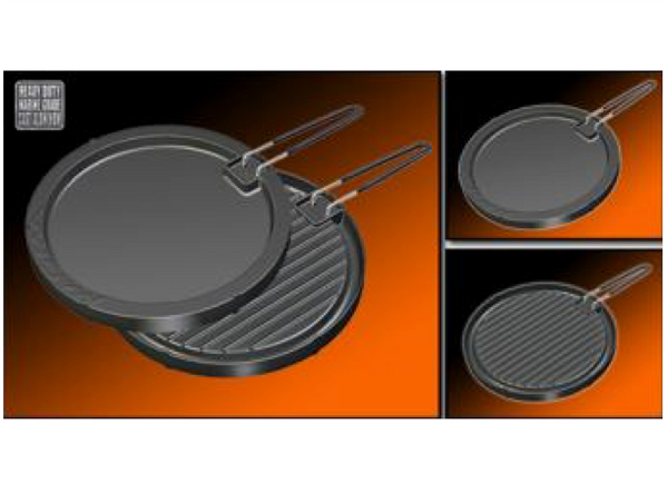 "Magma Reversible ""Non-Stick"" Griddle A10-196"