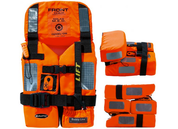 Baltic 2010 M.E.D./ Solas Foam Lifejacket - Child - 15 - 43 kg
