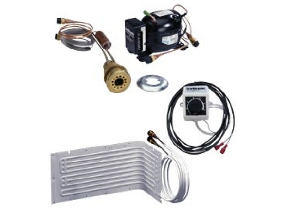 Isotherm 2050SP Compact SP-Water/Cld Small Refrigeration Kit 'L' Evap. 125L - Sea Water Cooled