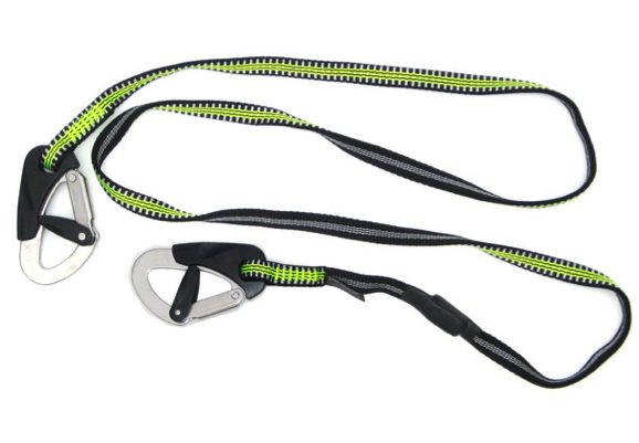 Spinlock Double Clip Safety Line 2m