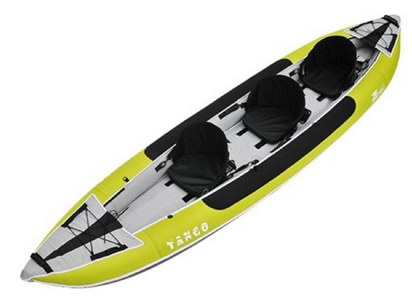 Z-Pro Tango 300 Inflatable Kayak - 3 Person