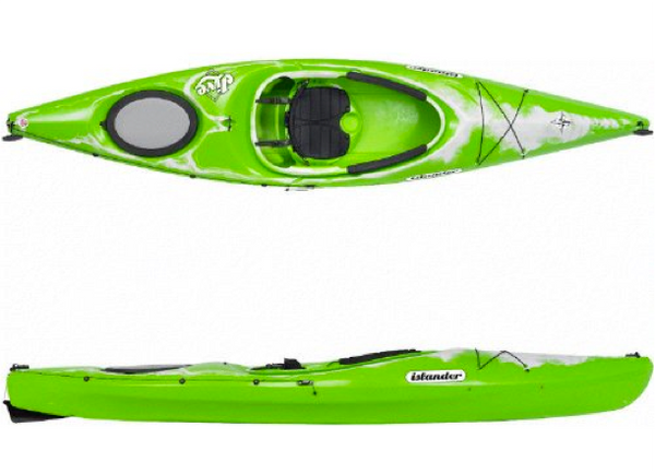 Islander Jive Touring Kayak - Lime Granite
