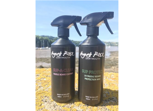 August Race SUP - A Clean Stand Up Paddle Board Protection Kit - 2 x 500ml Bottles