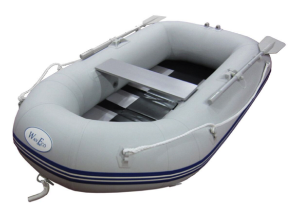 WavEco 230 Roundtail Slatted Floor Inflatable Boat with Outboard Bracket