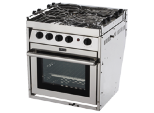 Force 10 - 4 Burner Gas Cooker Oven & Grill