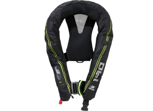 Baltic Legend 190 Automatic Lifejacket with Harness - New 2019 - Black - 2 Models
