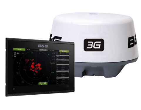 B&G Vulcan 9FS MFD with 3G Radar Bundle