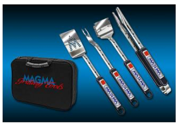 "Magma ""Telescopic"" 5 Piece Stainless Grill Tools Set A10-132T"