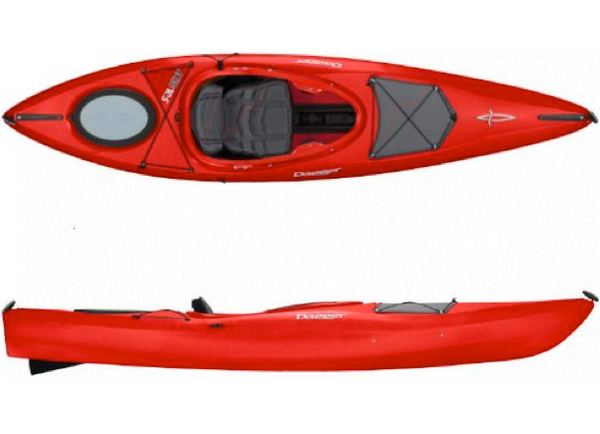 Dagger Axis Elite 10.5 Kayak - Colour Red