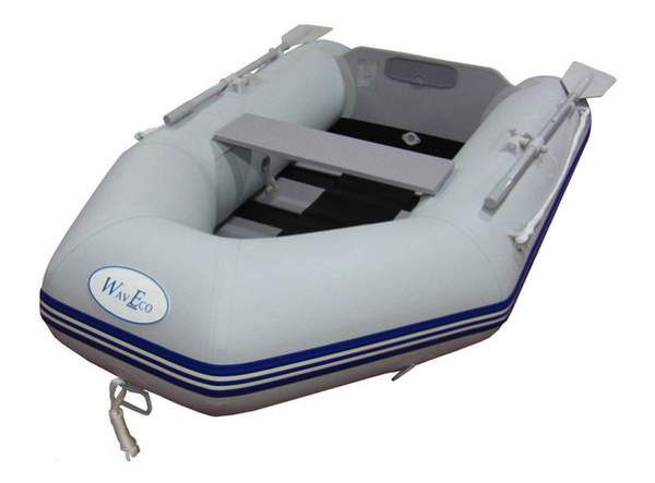 WavEco 2.30m Inflatable Solid Transom with Slatted Floor - 2021 Model - In Stock