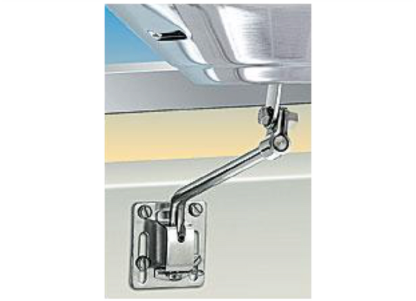 Magma Side (Bulkhead) or Square/Flat Rail Mount for Marine Kettle Grills A10-240