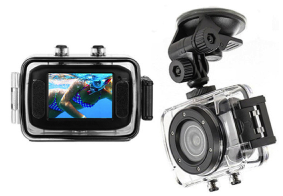 GO 10 PRO Extreme Action Video Camera c/w Mounts