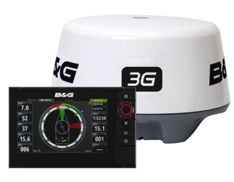 B&G Zeus2 7 MFD - with Insight cartography c/w Broadband 3G Radar