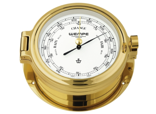 Wempe Cup Series Barometer 140mm - Brass Case