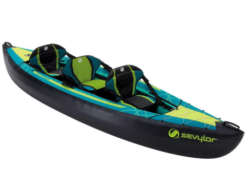 sevylor ottawa inflatable kayak 2 1 person in stock the wetworks