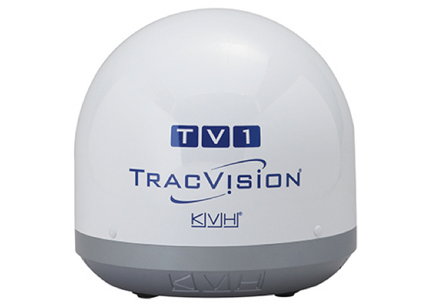 KVH TracVision TV1 Marine Ultra Compact Satellite TV Antenna