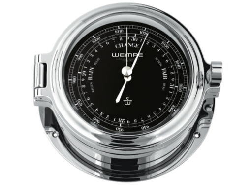 Wempe Regatta Series Barometer 140mm - Chrome Case