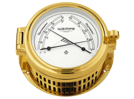 Wempe Regatta Series Comfortmeter 140mm - Gold Plated Case