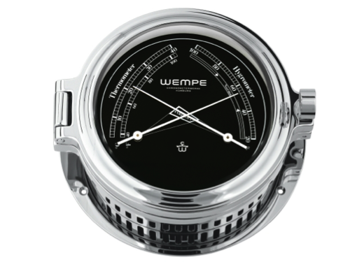 Wempe Regatta Series Comfortmeter 140mm - Chrome Case