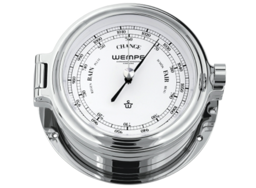 Wempe Cup Series Barometer 140mm - Chrome Case