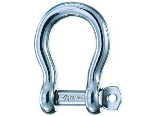 Wichard Stainless Steel Self-Locking Bow Shackle - All Sizes