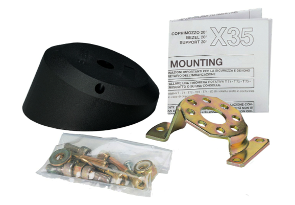 Ultraflex Steering Helm Bezel Mounting Kit 20 Degree