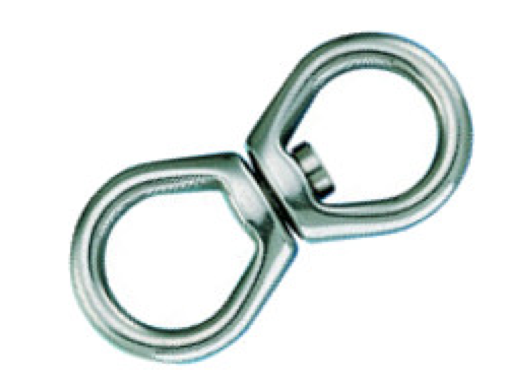 Wichard Forged Stainless Steel Mooring Swivel - 2 Sizes