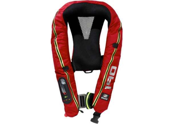 Baltic Legend 190 Lifejacket with Harness - Auto - Red - New 2019 Model - 2 Models