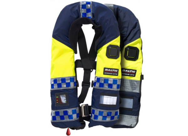 Baltic Police Officer Lifejacket - Automatic - 40 - 150 kg